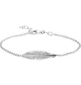 LAVI Armband Veer Zilver