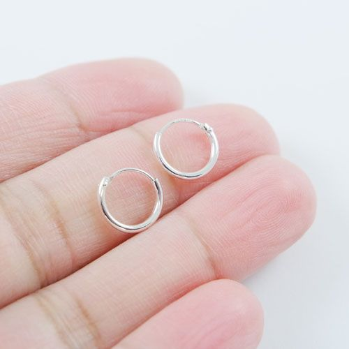 LAVI Silver Hoops Earrings Small