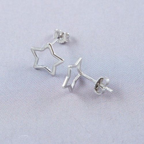 LAVI Star Earrings Silver