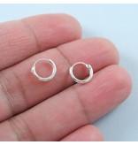 LAVI Kleine Oorringen  Zilver 9mm