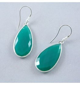 LAVI Green Onyx Earrings