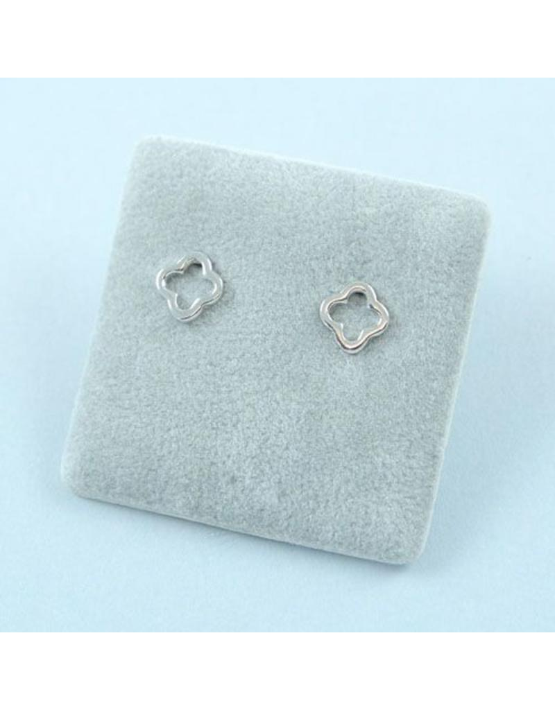 LAVI Clover Earrings Studs - Sterling Silver
