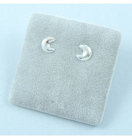 LAVI Moon Stud Earrings