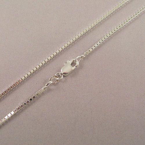 LAVI 60cm Venetian link chain Silver