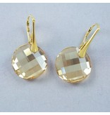 LAVI Swarovski Elements Earrings - Golden Shadow