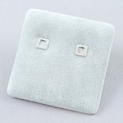 LAVI Open Square Ear Studs
