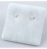 LAVI 3 Dots Sterling Silver Ear Studs