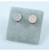 LAVI Silver color Ear Studs 8,5mm