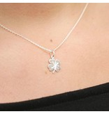 LAVI Sterling silver clover necklace