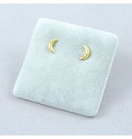 LAVI Moon Ear Studs - Gold