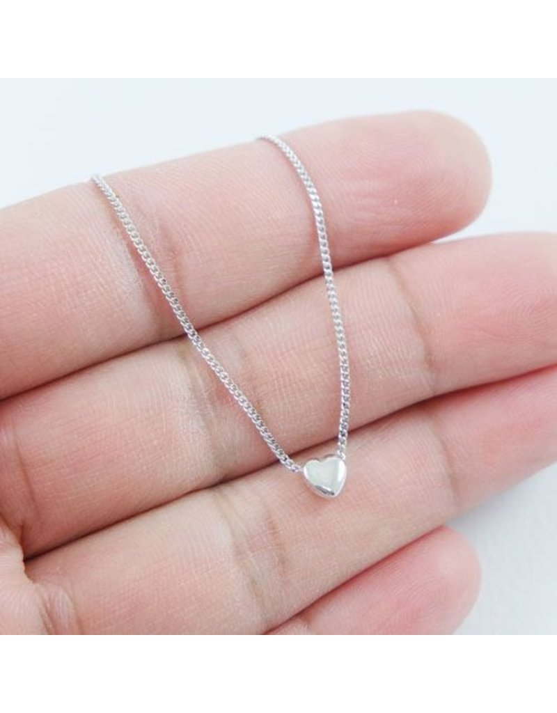 LAVI Sterling Silver Heart Necklace