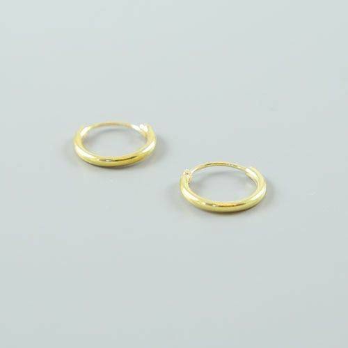 LAVI Gold plated hoop earrings