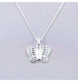 LAVI Vlinder Collier Echt Zilver