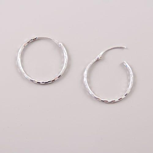 LAVI Silver hoop earrings
