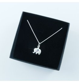 LAVI Elephant Necklace Sterling Silver