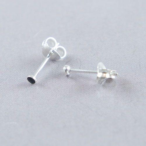 LAVI Onyx Ear Studs 2mm