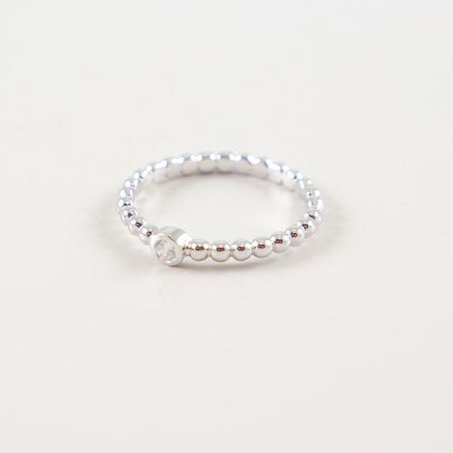 LAVI Sterling Silver Zircone Ring
