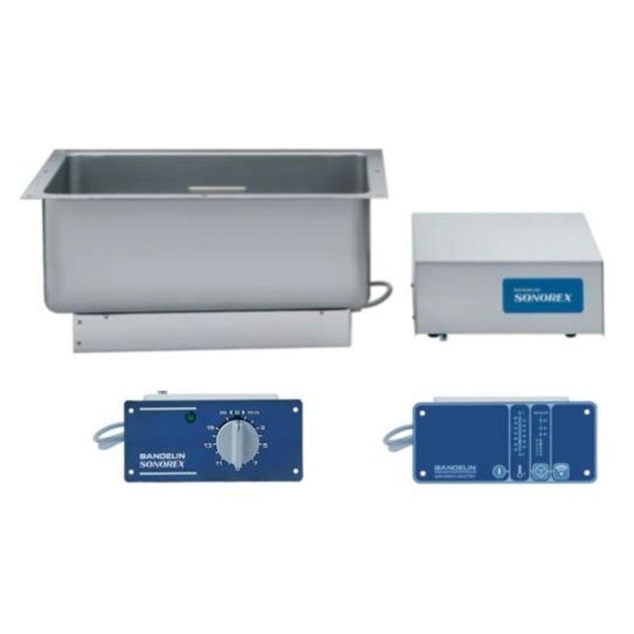 Sonorex ZE1032 / ZE1032DT 29 liter ultr. bodem / zijkant