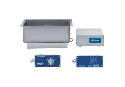 Bandelin Sonorex ZE3000 / ZE3000DT 60 liter ultr. bodem / zijkant