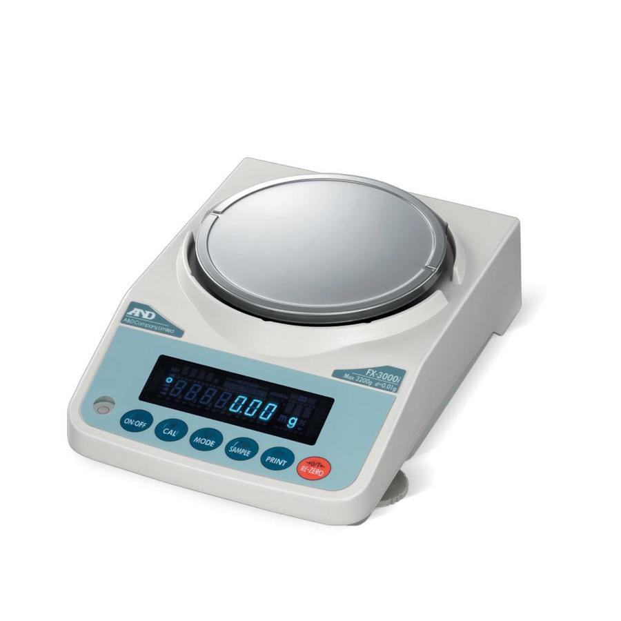 FX-500i-NVH max. 520 g. indeling 0,001g.