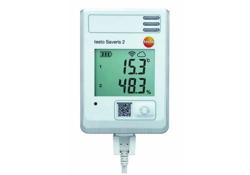 Testo Saveris 2-H1 -30 tot +50 / 0 tot 100% RV