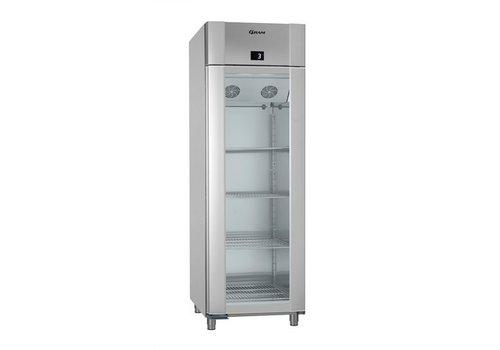 Gram ECO PLUS KG 70 CCG L2 4N, koelkast,  Glasdeur inhoud: 610L