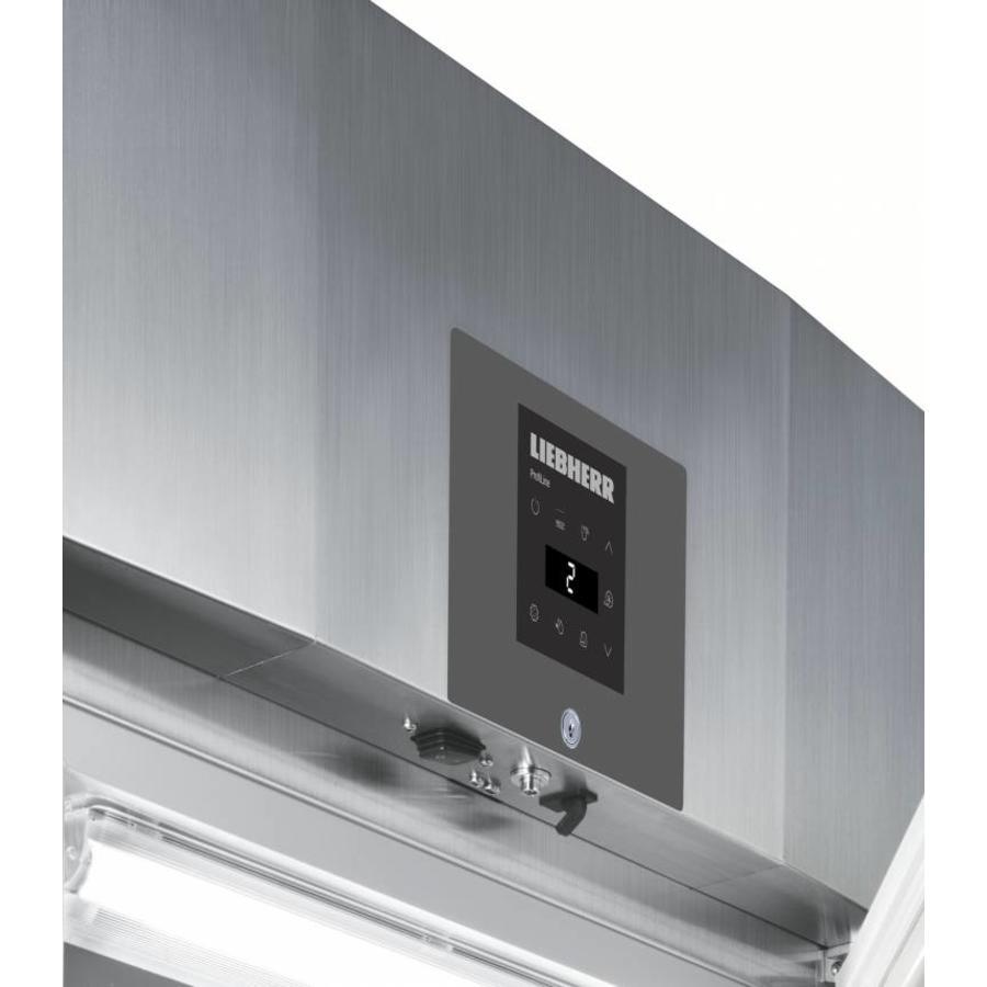 GKPv 6573 Glasdeur profi-line koelkast