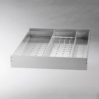 BioPlus ER1400 glazen dubbeldeur laboratorium koelkast