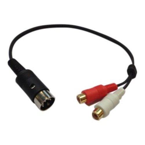 Bang & Olufsen DIN naar tulp/ Cable w.adaptor 5 din/2 rc