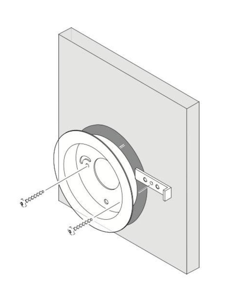 Bang & Olufsen ir eye plate  B&O inWall Aluminium