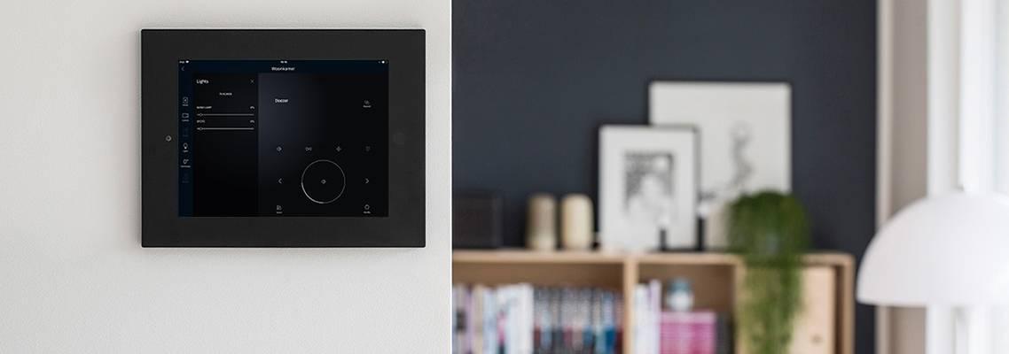 iPad holder inWall of onWall