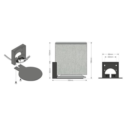 BeoPlay M5 - Wall Bracket