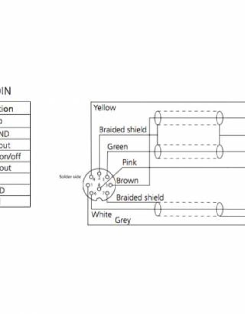 Bang & Olufsen PowerLink DIN plug soldeerbaar voor Bang en Olufsen apparatuur