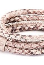 Joy de la Luz Joy de la Luz JB111rr leather knot king python medium