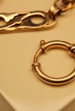 14k gouden antieke Nederlandse horlogeketting 1865-1905