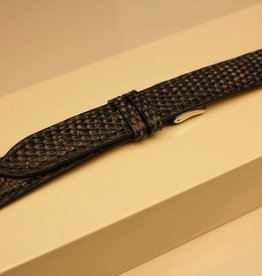 Handmade watch band lizard leather 18/16mm