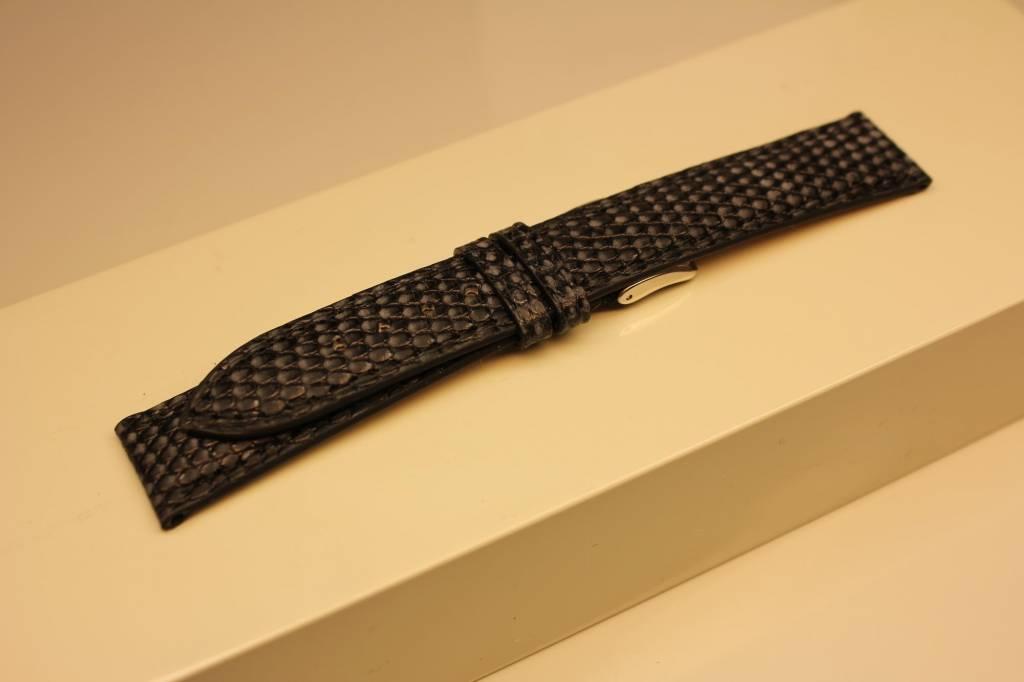 Handmade watch band lizard leather 18/16mm