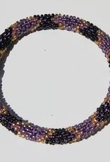 Loffs Loffs Nepal Bracelet black, purple & gold