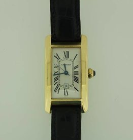 Cartier Tank Americaine gold 24mm