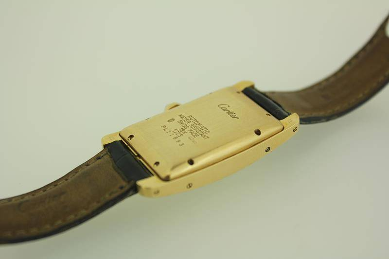 Cartier Americain gold 24mm