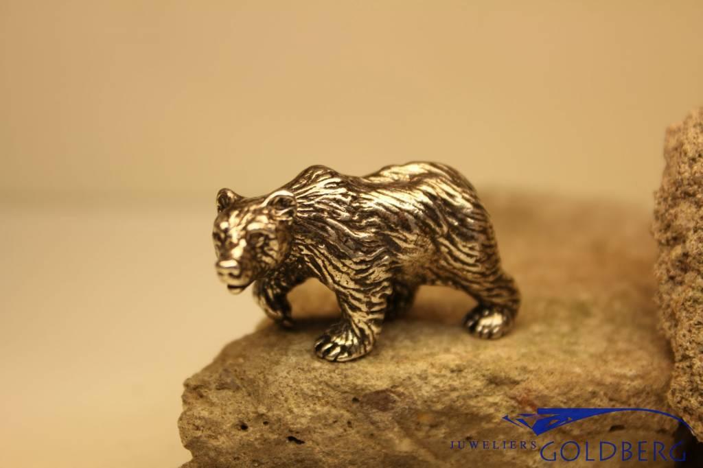 Silver miniature bear