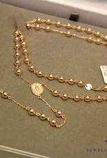14 carat rose gold rosary
