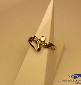 14 carat gold design ring Ton v/d Hout