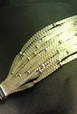 Calgaro Calgaro Bracelet woven silver