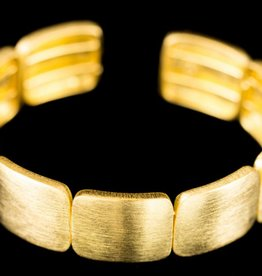 Sanjoya lovely gold plated silver bracelet by Sanjoya