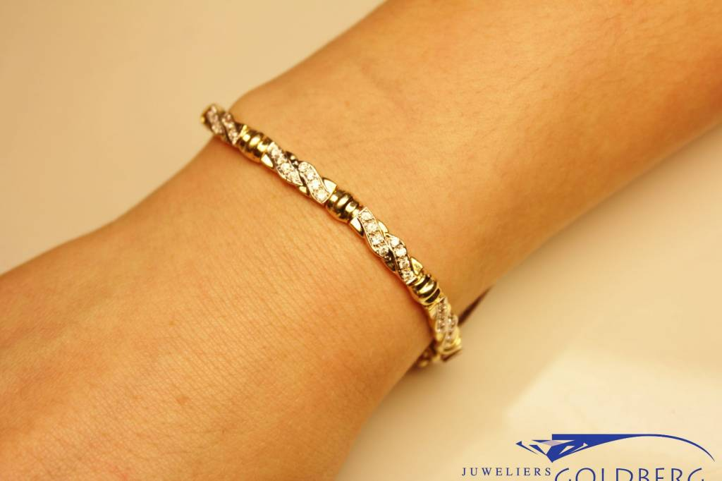 watch ring carat diamond gallery bangles shop bangle our vintage jewelry freeform surprise bracelet and karat gold