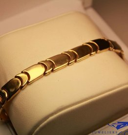 14 carat yellow gold bracelet