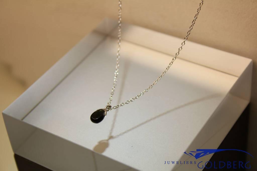 MAS Jewelz MAS necklace blackstone silver