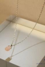 MAS Jewelz MAS necklace pink opal silver