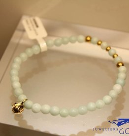 MAS Jewelz MAS bracelet amazonite gold model 2 M